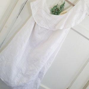 Cloth & Stone One Shoulder Dress